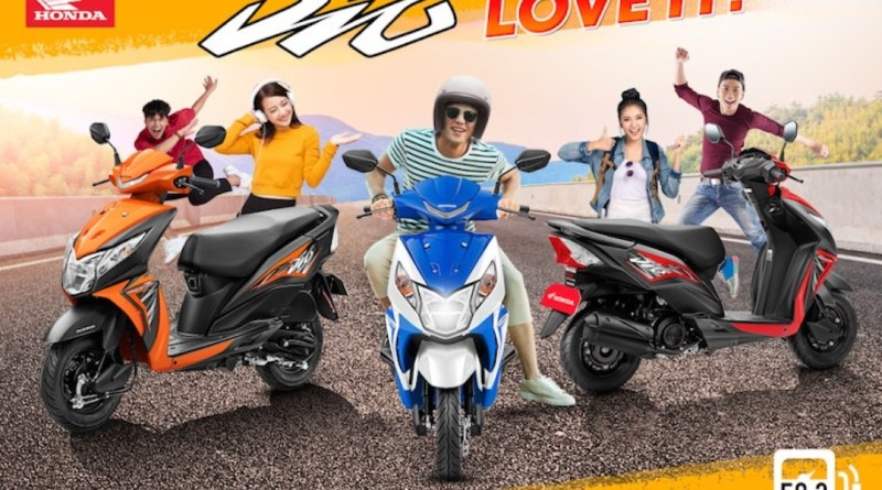 A Scooter You'll Surely Love: The All-New Honda DIO   Good Guy Gadgets