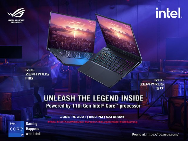 ASUS ROG Philippines is ready to 'Unleash The Legend Inside' with the new Zephyrus line launch on June 19th | Good Guy Gadgets