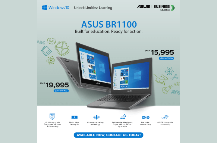 ASUS Philippines officially launches the ASUS BR1100 education laptop series   Good Guy Gadgets