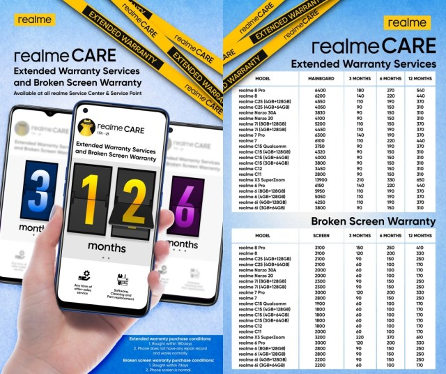 """realme Philippine introduces """"Upgrade to realme 8"""" Bundle Promo, rolls out discounted services, extends warranty 