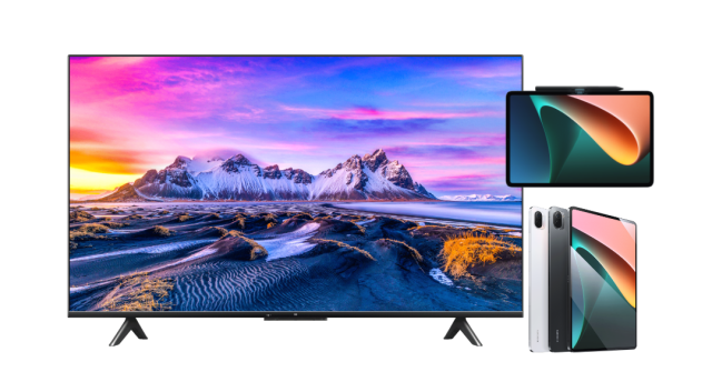 Xiaomi announces arrival of Mi TV P1 Series and Xiaomi Pad 5 in the Philippines   Good Guy Gadgets
