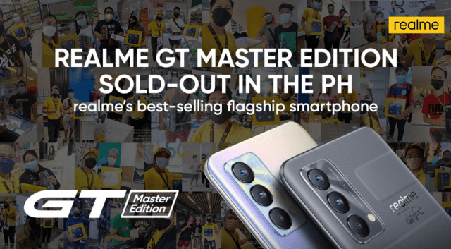 realme GT Master Edition achieves sold-out status in the PH, becomes brand's best-selling flagship smartphone to date | Good Guy Gadgets