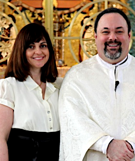 Presbytera Connie & Fr Barnabas Powell