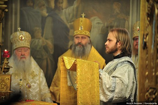 Before ordination. Photograph by A. Pospelov / Pravoslavie.ru