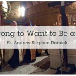 Fr. Andrew Damick (AFR) – Is it Wrong to Want to be a Priest?