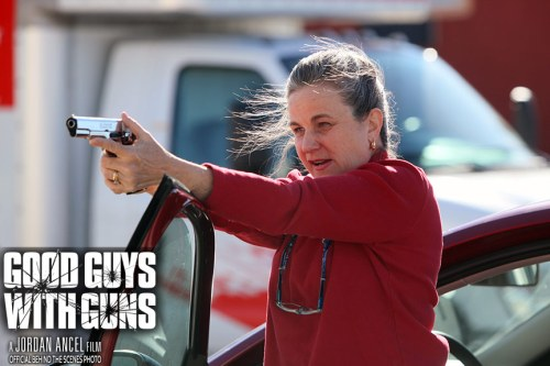 Vivian Nesbitt, Jordan Ancel, Good Guys With Guns, Award Winning, Writer, Director, Filmmaker, Movie, Film