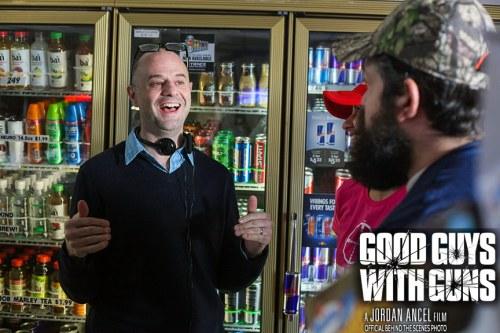 Jordan Ancel, Good Guys With Guns, Award Winning, Writer, Director, Filmmaker, Movie, Film
