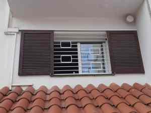 Instalación reja fija primer piso Sitges