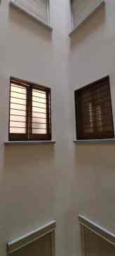 Instalación de Reja Fija en patio interior en Barcelona