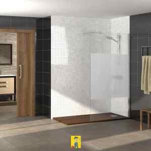 mampara de ducha modelo Rimini 1