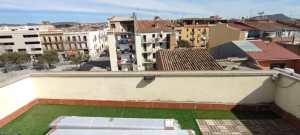 Instalación Valla Aluminio en terraza de Igualada