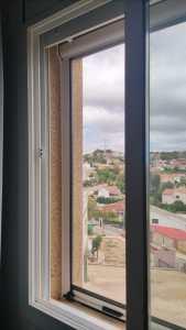 Instalación de 6 mosquiteras en piso de Segur de Calafell