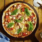 PIZZA CON COSTRA DE AMARANTO - ¿Como preparar una Pizza con Costra de Amaranto? para Personas Diabéticas