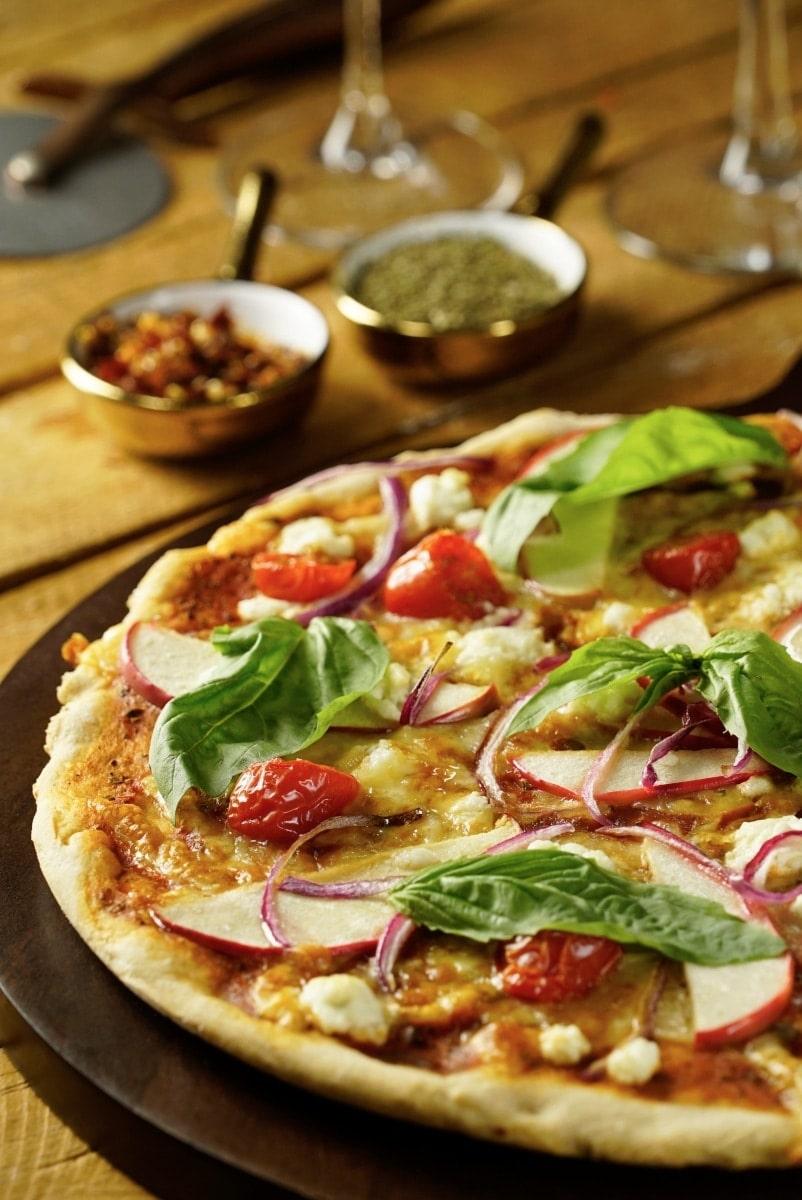 PIZZA CON COSTRA DE AMARANTO 2 - ¿Como preparar una Pizza con Costra de Amaranto? para Personas Diabéticas