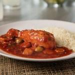 Pollo Guisado Dominicano - Receta de Pollo Guisado al Estilo Dominicano