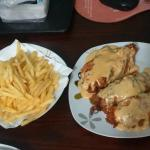Receta de Pechuga a la Cordon Bleu con Papas Fritas 2 - How to Make Recipe Breast Cordon Bleu