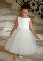 Flower Girl Dress by Isabel Garreton