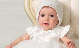 Sarah Louise Girls Christening Gown Reading MA