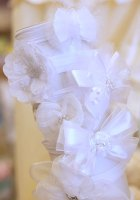 Christening Bows & Headbands