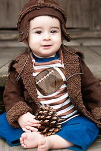Haute Baby Boy Football Outfit