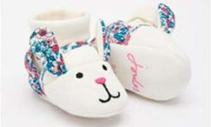 Joules Baby Girl Slippers