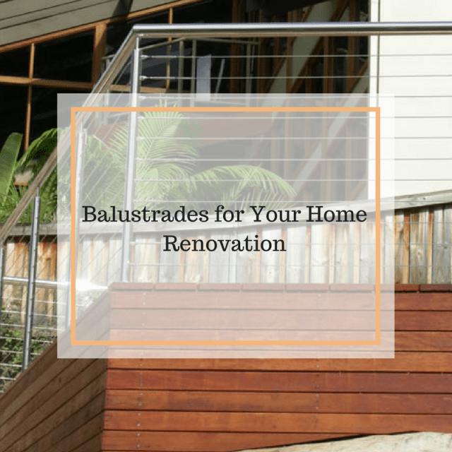 balustrades for home renovation