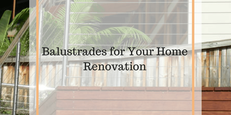 balustrades for home renovation
