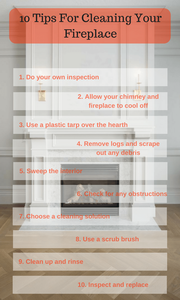 10 Tips For Cleaning Your Fireplace