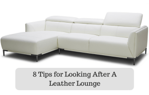 8 Tips for Looking After A Leather Lounge Perfectly