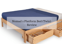 Nomad 2 Platform Bed (Twin) Review