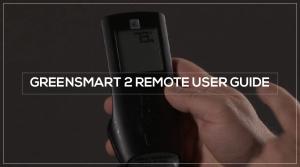 GreenSmart 2 Remote User Guide