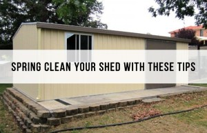 spring clean shed