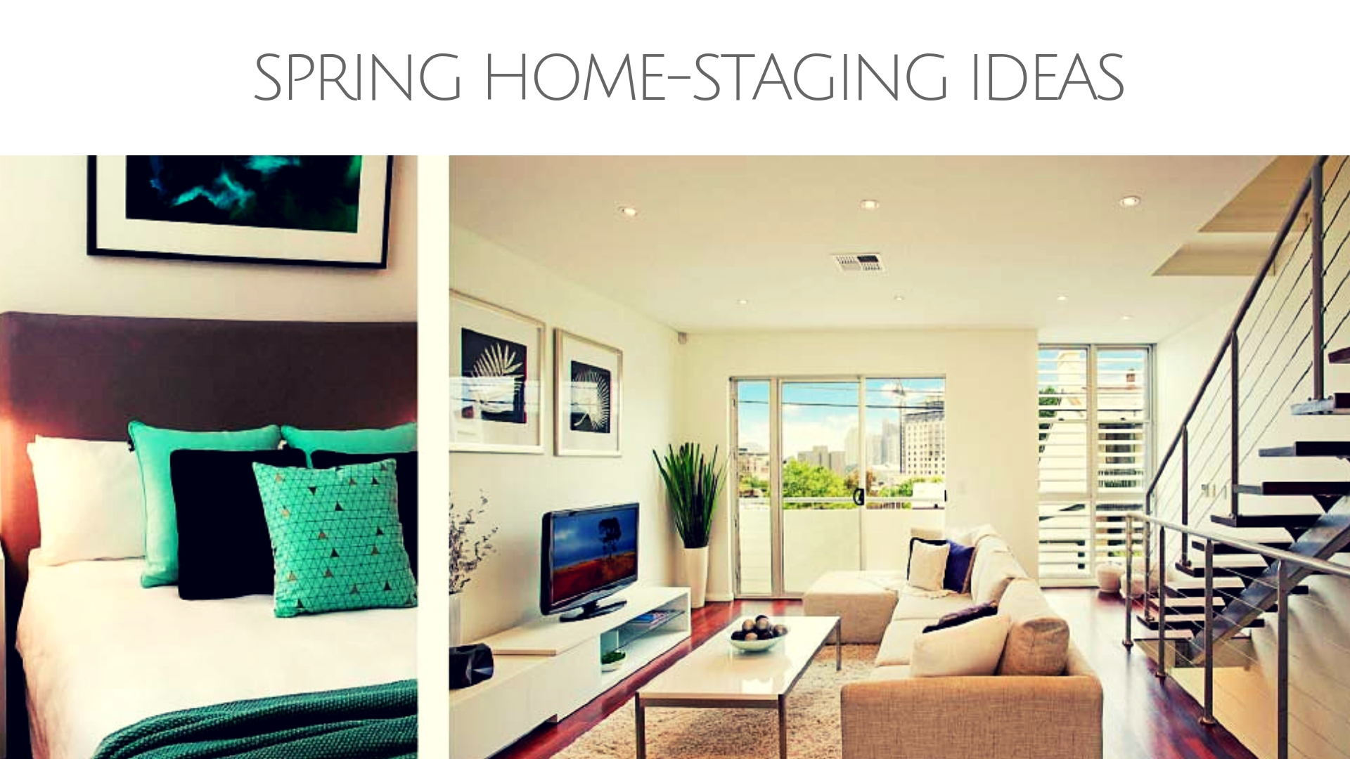 Spring Home Staging Ideas Good House Decor