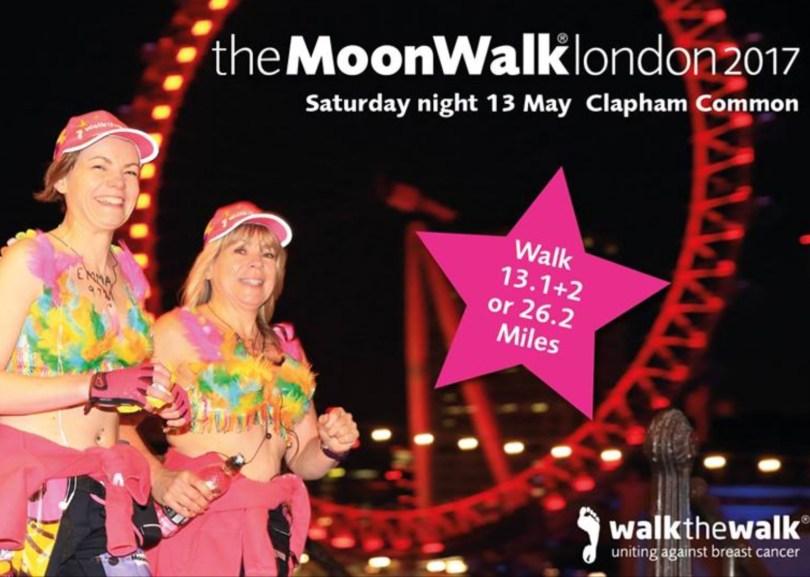 Moon Walk London - finding beauty after tragedy