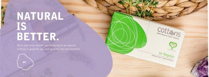 Organic tampons - Good Idea Fairy