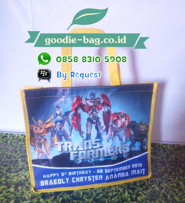 Tas Ulang  Tahun Anak Transformers