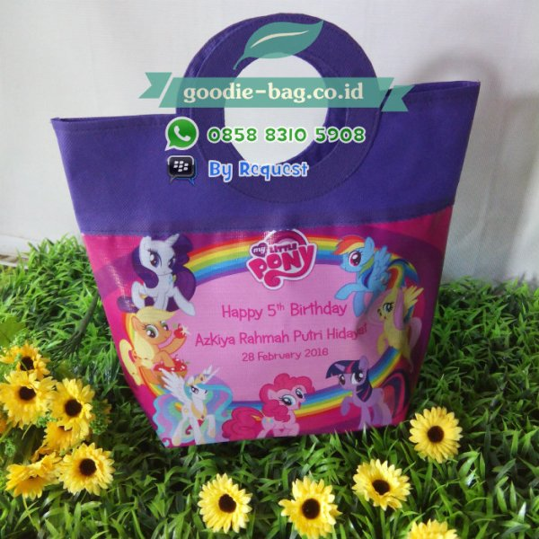 Tas Souvenir Little Pony Murah