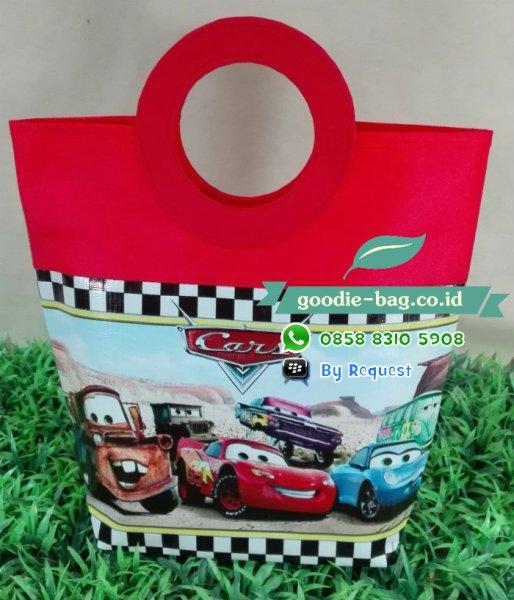 tas ulang tahun cars