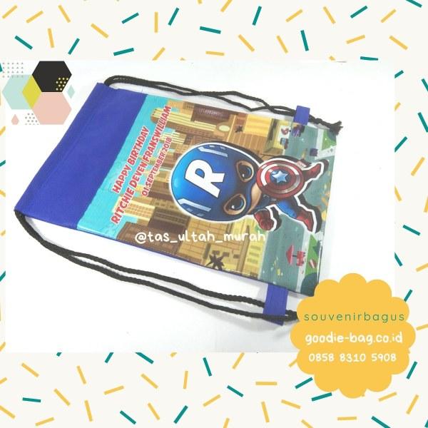 Goodie Bag Captain America Cute - Souvenir Ultah Murah kirim ke Asemka