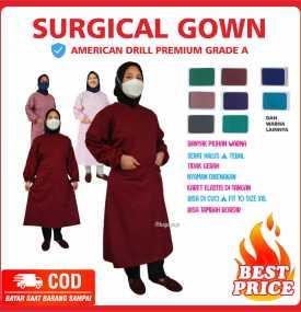 APD Gown Drill Medis Kudus Pati Jepara Semarang