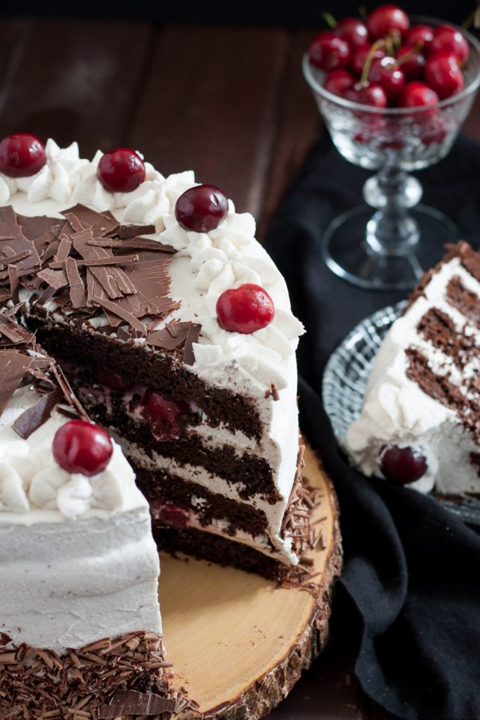 Black Forest Cake Goodie Godmother A Recipe And