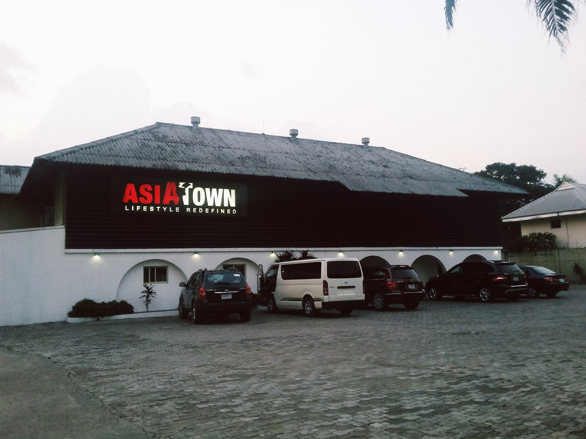 Exterior of Asia Town, Port Harcourt