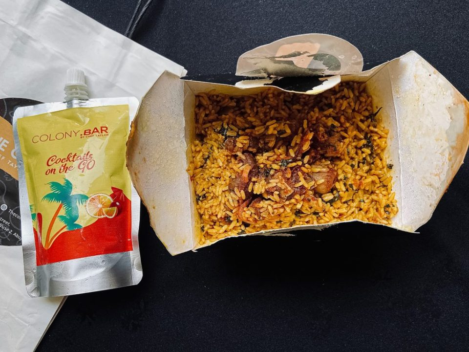 Picture of spin rice from The Colony by Chef Taylor