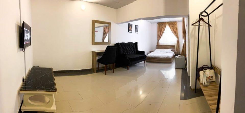 El Greco room at paint house hotel abuja