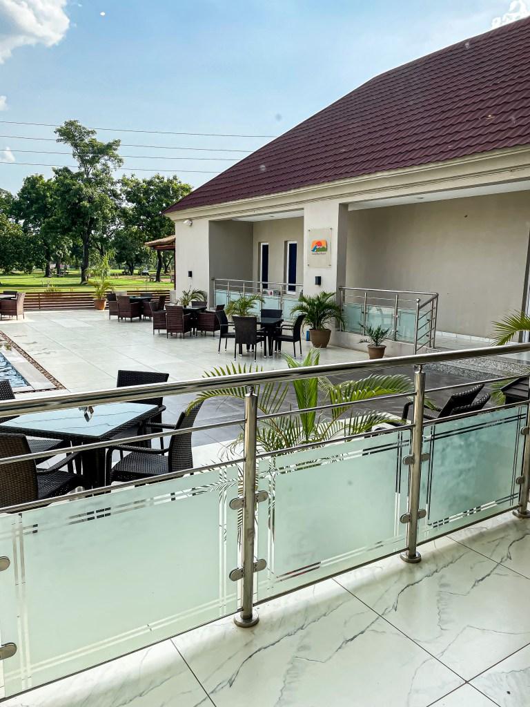 Pool side cilantro - zuma rock resort