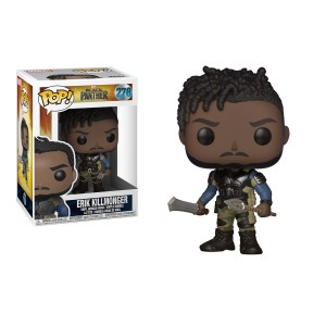 Funko Pop Marvel Black Panther Erik Killmonger – 278