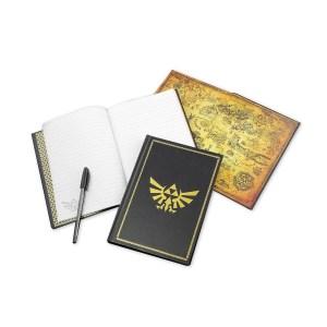 Carnet de notes «ZELDA NOIR»