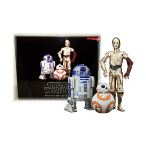 3 Figurines Star wars « DROIDES »