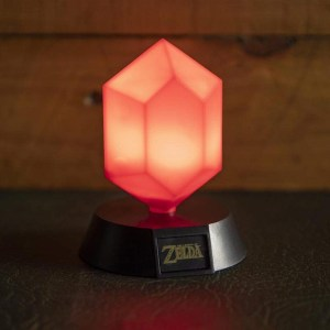 Mini-lampe «RUBIS ROUGE»