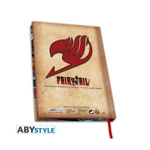 Cahier A5 « FAIRY TAIL GROUPE »